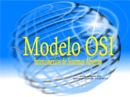 Modelo OSI redesyservicios