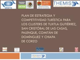 Plan de estrategia y Competitividad Turística Corta