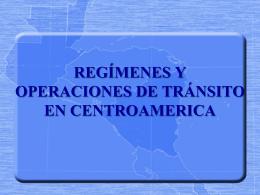 tránsito en centroamerica