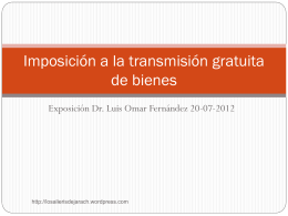 UA imposicion a la transmision gratuita- teoria