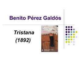 Benito Pérez Galdós Tristana (1892)