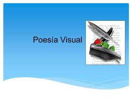 Poesía visual - Colegio Monte de Asís