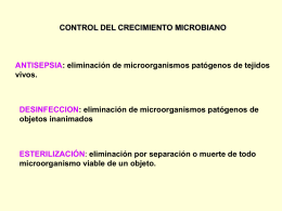 05: Esterilización y Nutrición