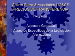 Precios de transferencia en Venezuela