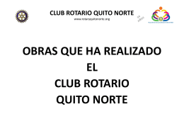 club rotario quito norte
