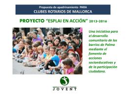 Associacio Jovent - Rotary Club Palma Junípero Serra