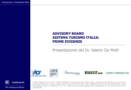 Valerio De Molli - Managing Partner Ambrosetti