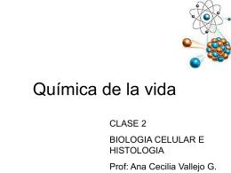 quimica de los seres vivos
