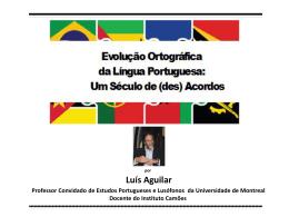 Diapositive 1 - Teia da Língua Portuguesa