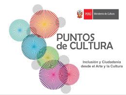 Lineamientos de Política Cultural 2013-2016
