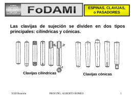 Espinas y Chavetas