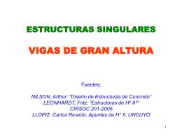 VIGAS DE GRAN ALTURA - hormigonarmado-fiobera
