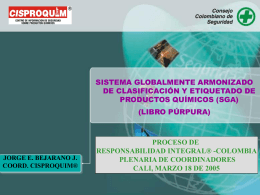 No Slide Title - Responsabilidad Integral Colombia