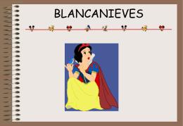 Cuento Blancanieves SPC.