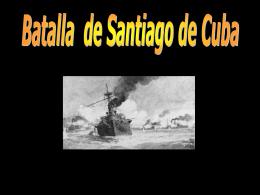 La escuadra del Almirante Cervera