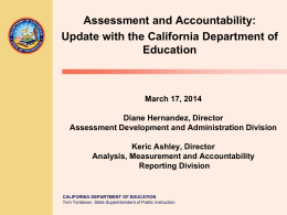 Accountability Within California