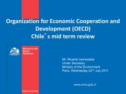 Chile-OCDE en el Ámbito Medioambiental
