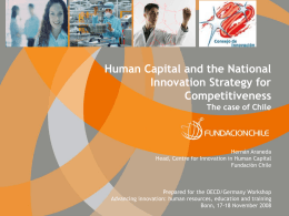 Human Capital and the National Innovation Strategy for