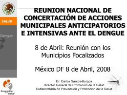 Diapositiva 1 - Dirección General de Promoción de la Salud