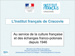Institut français de Cracovie - 2013