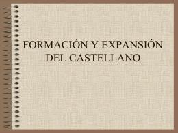 formación y expansión del castellano