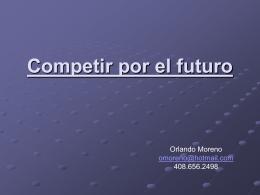 Competir por el futuro