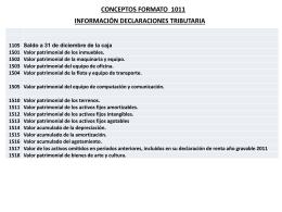 9. Conceptos formato 1011