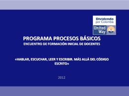 PROGRAMA DE LG