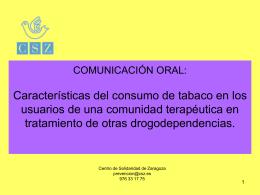 Diapositiva 1 - Fundación Centro Solidaridad Zaragoza