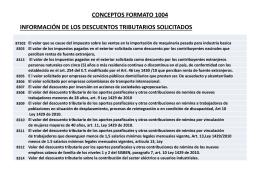 5. Conceptos formato 1004