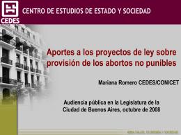 Descargar la presentación de Mariana Romero