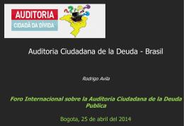 EJERCICIO PRACTICO DE AUDITORIA – CAIC – ECUADOR