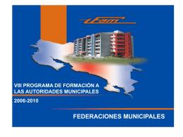 Federaciones Municipal