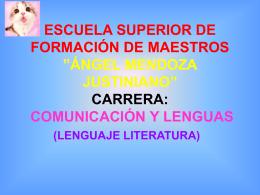 """escuela superior de formación de maestros """"ángel"""