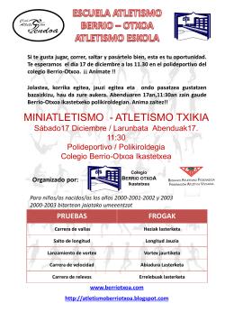 Diapositiva 1 - Colegio Ikastola Berriotxoa