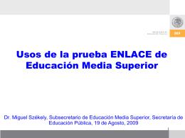 Descargar - Enlace - Secretaría de Educación Pública
