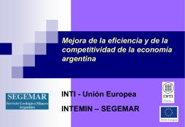 Presentación de PowerPoint - Instituto Nacional de Tecnología
