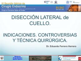 controversias en la tecnica quirúrgica del cpt