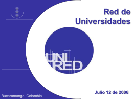 POR QUÉ UNIRED? - Universidad Icesi