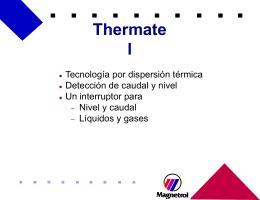 Thermatel - Termoprocesos e Instrumentacion