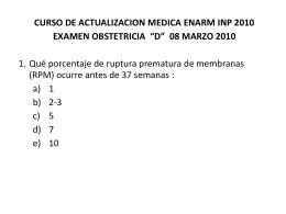 EXAMEN AMBOS GRUPOS OBSTETRICIA 080310