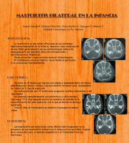 Poster Mastoiditis
