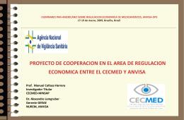 PROYECTO DE COOPERACION EN EL AREA