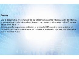 Servidor Proxy SIP - Soft