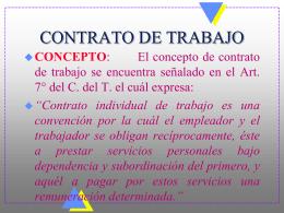 APUNTES CODIGO DEL TRABAJO