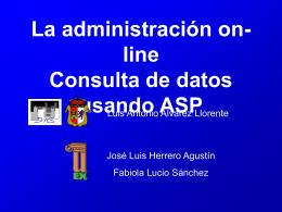 Presentación realizada para - SIG de Cáceres