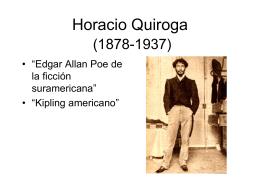 Horacio Quiroga (1878