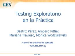 Metodología de Trabajo Laboratorio Testing Funcional