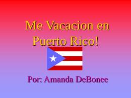 Puerto Rico! - SraRousseau