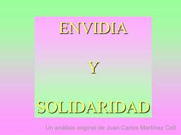 Envidia y solidaridad